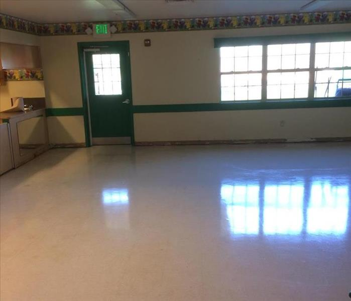 Water Damage in a School in Austin, TX After