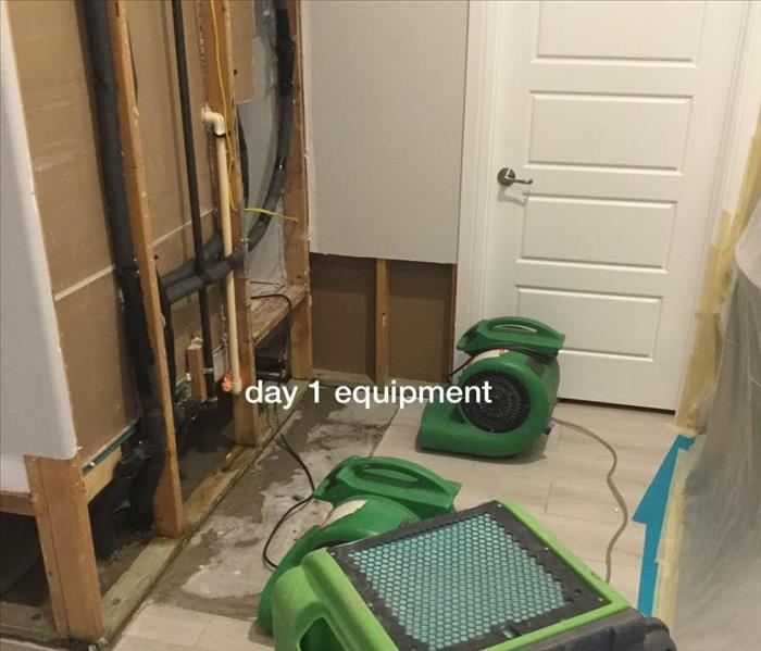 Mold found in Mud Room Central Austin After