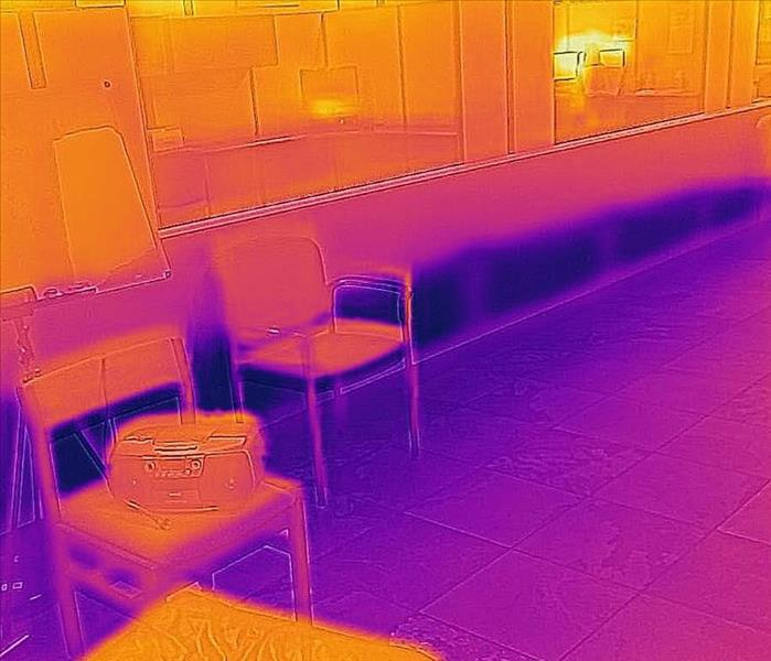 Commercial Flir Technology for Water Damage